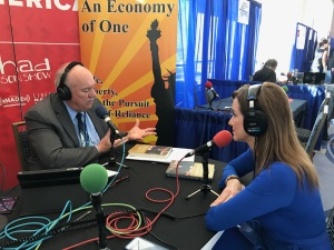 Peggy Grande, former Executive Assistant to President Ronald Reagan on An Economy of One with Gary Rathbun, CPAC 2017