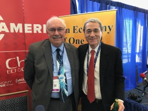 Gordon Chang with Gary Rathbun, CPAC 2017