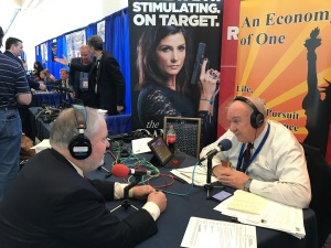 Dr. Larry Arnn of Hillsdale College with Gary Rathbun on An Economy of One, CPAC 2017