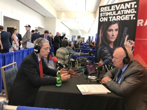 Author and columnist Gordon Chang on An Economy of One with Gary Rathbun, CPAC 2017