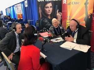 Tom & Deneen Borelli with Gary Ratbun on An Economy of One, CPAC 2017