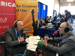AEI President, Arthur Brooks, on An Economy of One with Gary Rathbun at CPAC 2017