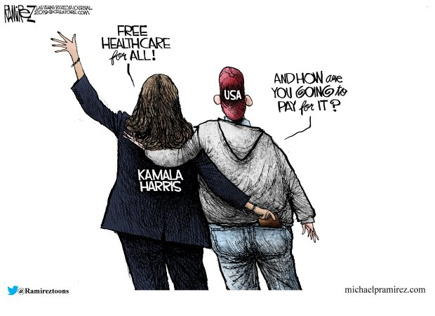 Kamala Harris free healthcare